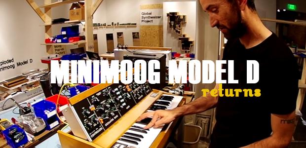 Moog Music Reissues The Minimoog Model D