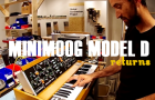 Moog Music Reissues The Minimoog Model D