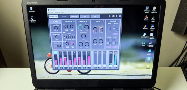 Keith McMillen Instruments Brings K-Mix Editor to Windows 7, 8, and 10