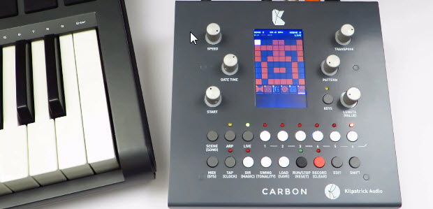 Kilpatrick Audio Carbon Sequencer at Knobcon