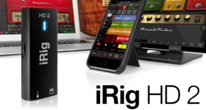 IK Multimedia Announces  iPhone 7 ready iRig HD 2