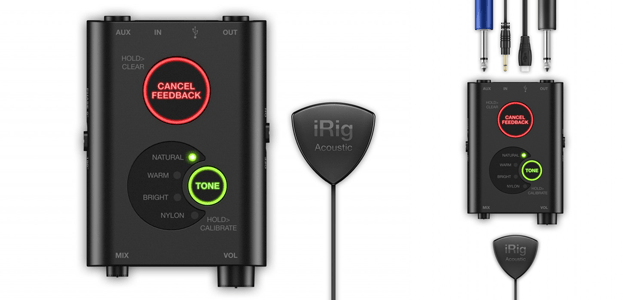 IK Multimedia announces iRig Acoustic Stage