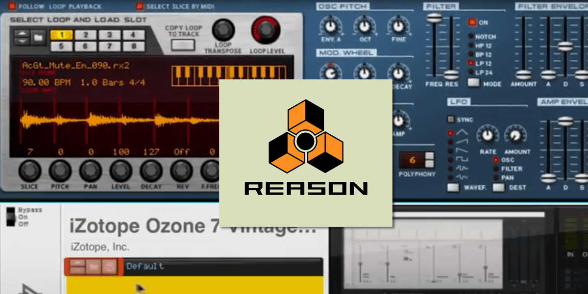 Reason 9.5 Supports VST Usage