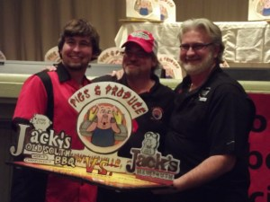 Myron Mixon wins the Rib Cookoff over his son Michael