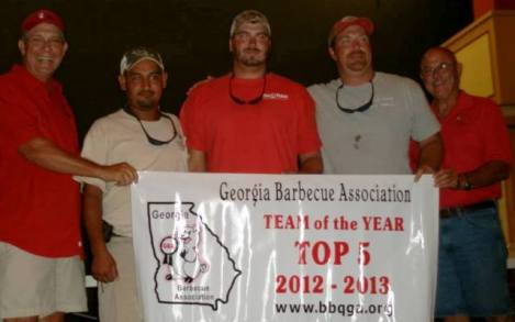 2nd Place - Sauced Hogs Smoke Shack