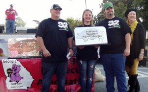 1st Place Pulled Pork - 92 BBQ
