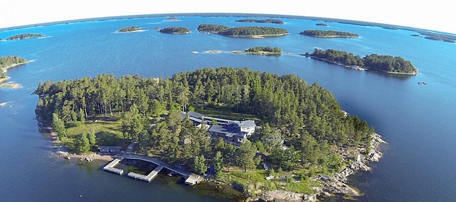 Egen ö i Stockholms skärgård