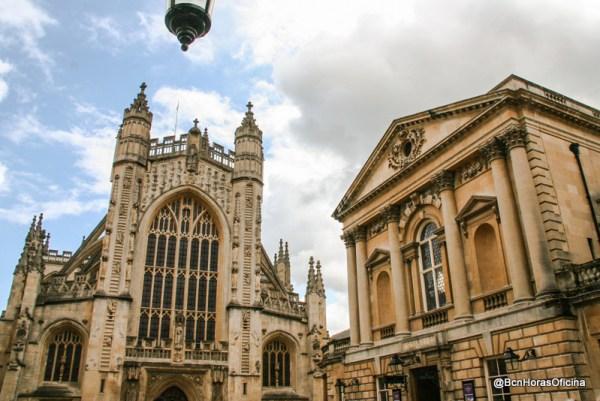 Baños Romanos De Bath:Abadía y los Baños Romanos de Bath