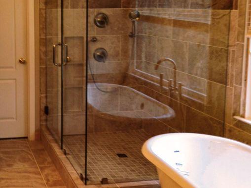 Earth Tone Luxury Master Bath