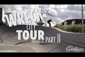 Video thumbnail for youtube video Grindhouse Wreck City tour – Part 2 - Be-Mag