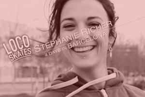 Video thumbnail for vimeo video Stéphanie Richer: Loco Skates 2015 Edit - Be-Mag