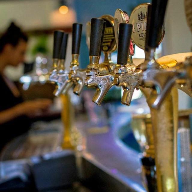 Beers on tap at Bondi Bowls Club