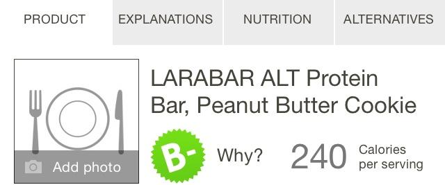 Larabar Protein Bar Comparison