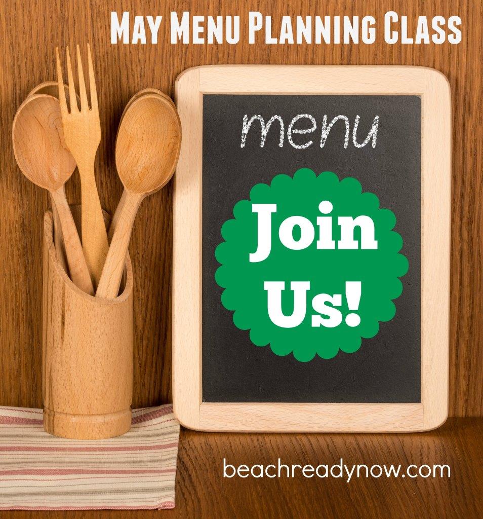 Menu Planning Class