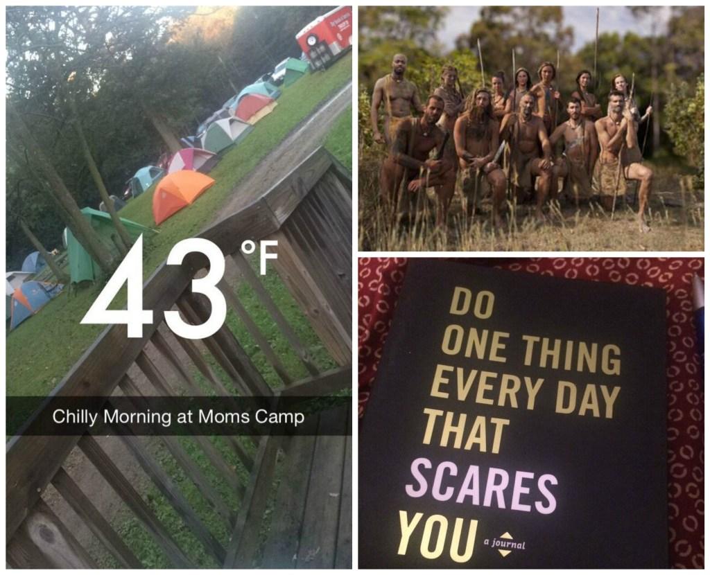 Naked and Afraid at Moms Camp