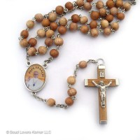 Saint Francis of Assisi Rosary Chaplet and Rosary Beads