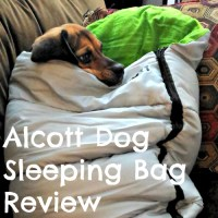 S is for Sleeping Bags for Dogs + Alcott GIVEAWAY!
