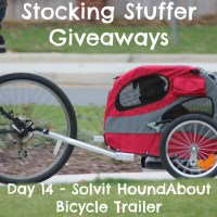 Stocking Stuffer Giveaway Day 14: Solvit HoundAbout II Bicycle Trailer