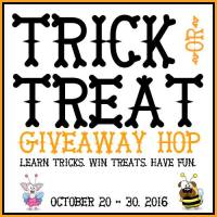 Turn Bad Habits Into Dog Tricks - Trick or Treat Giveaway Hop