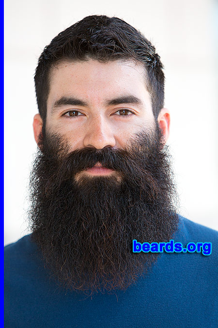 Vincent with his mighty, mighty beard