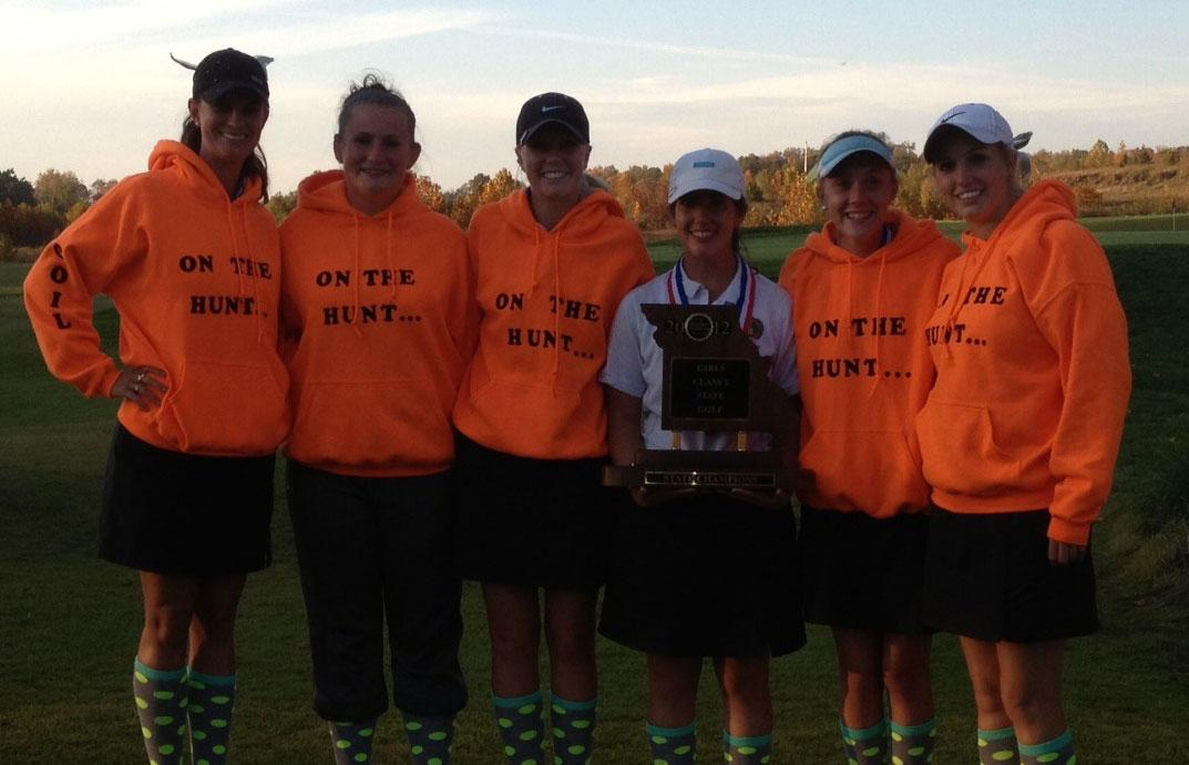 Golf smashes state, brings home second state title