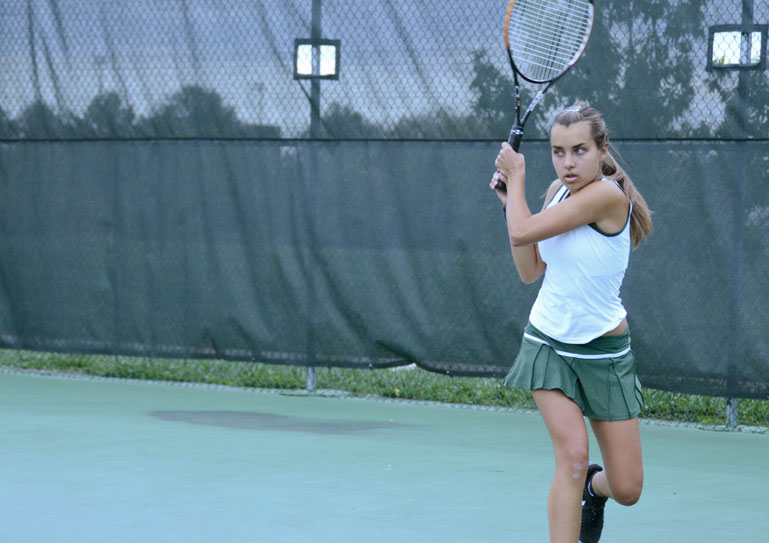 Girls tennis takes a tough loss at state