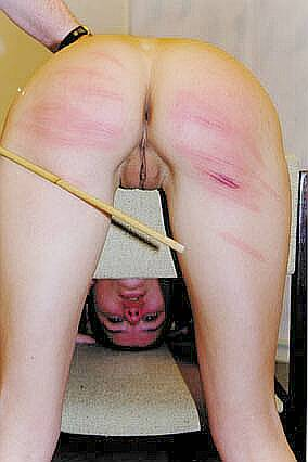 inner  thigh caning