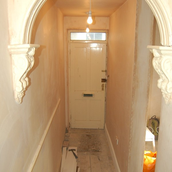 Retained victorian archway