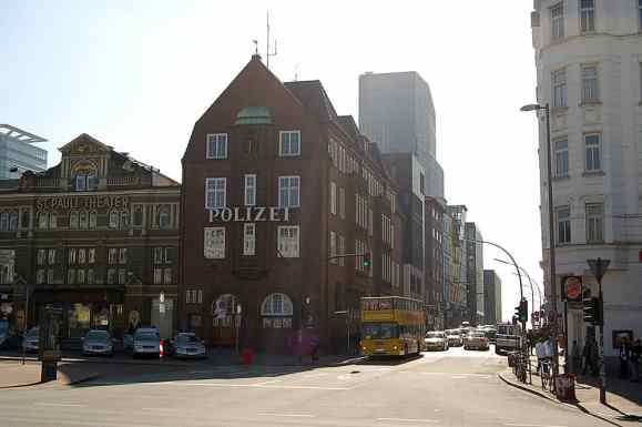 Davidwache police station, Hamburg, 2011
