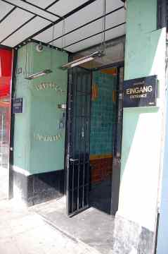 Top Ten Club entrance, Hamburg, 2011
