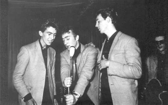 The Beatles at the Indra Club, Hamburg, 17 August 1960