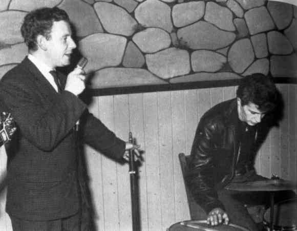 Pete Best at Aintree Institute, Liverpool, 19 August 1961