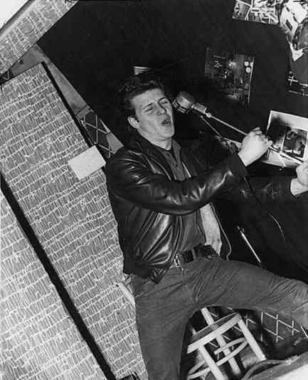 Pete Best at the Palais Ballroom, Aldershot, 9 December 1961