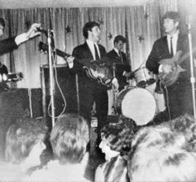 The Beatles, Majestic Ballroom, Birkenhead, 28 July 1962