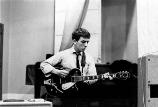 George Harrison, EMI Studios, Abbey Road, 4 September 1962