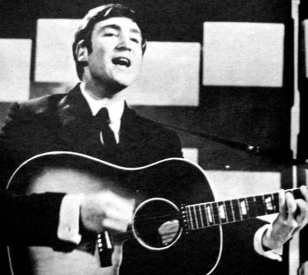 John Lennon performing on Thank Your Lucky Stars, 13 January 1963