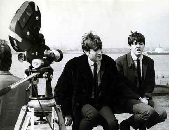 John Lennon and Paul McCartney, The Mersey Sound, BBC, 29 August 1963