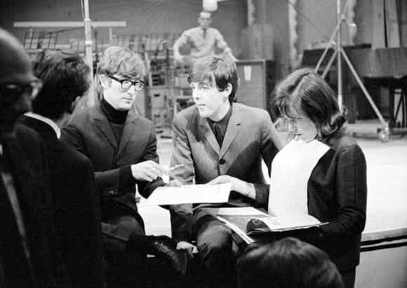 John Lennon and Paul McCartney, Saturday Club, BBC, 17 December 1963