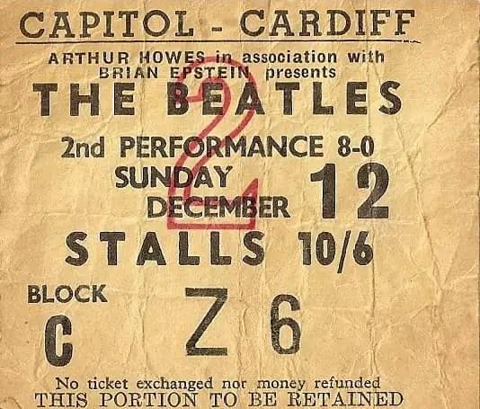 The Beatles Polska: Koncertem w Cardiff kończy się brytyjska trasa koncertowa The Beatles.