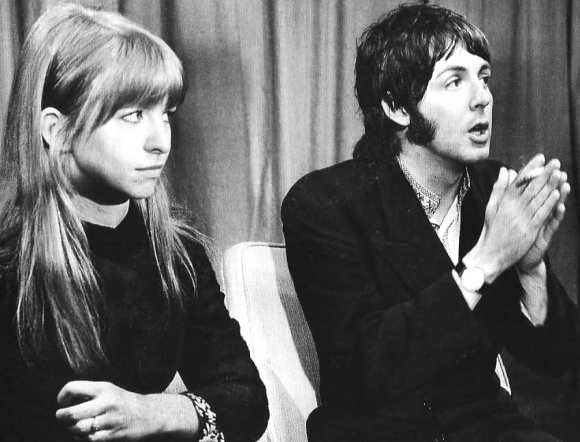 Paul McCartney and Jane Asher, 1968