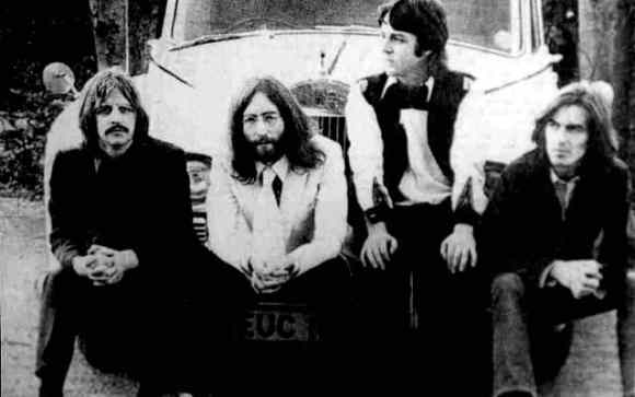 The Beatles, London, 9 April 1969