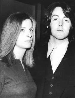Paul and Linda McCartney, 1969