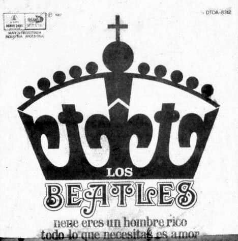All You Need Is Love single artwork - Argentina