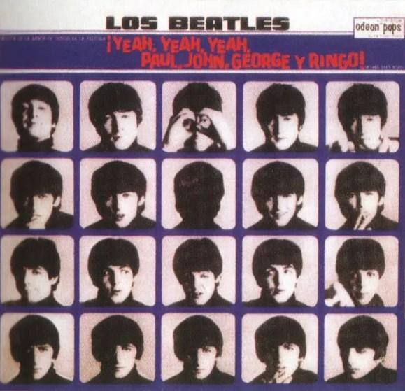¡Yeah, Yeah, Yeah, Paul, John, George Y Ringo! (A Hard Day's Night) album artwork - Argentina