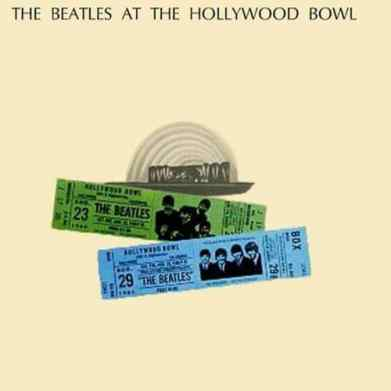 The Beatles At The Hollywood Bowl album artwork