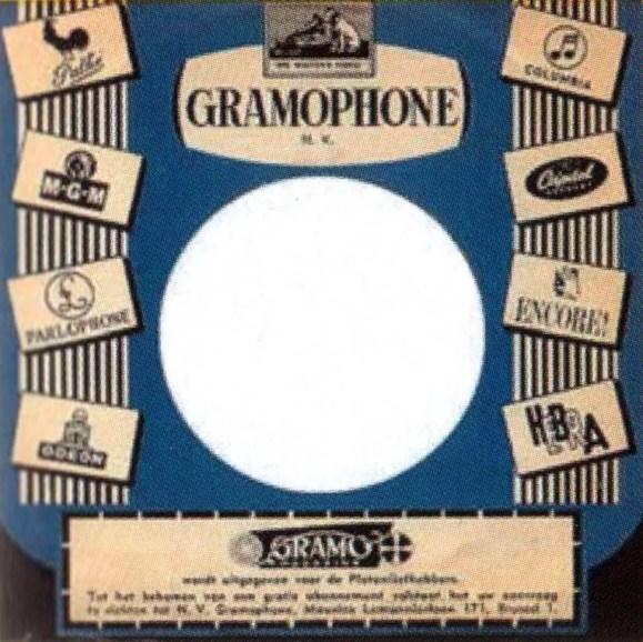 Parlophone single sleeve, 1964 - Belgium