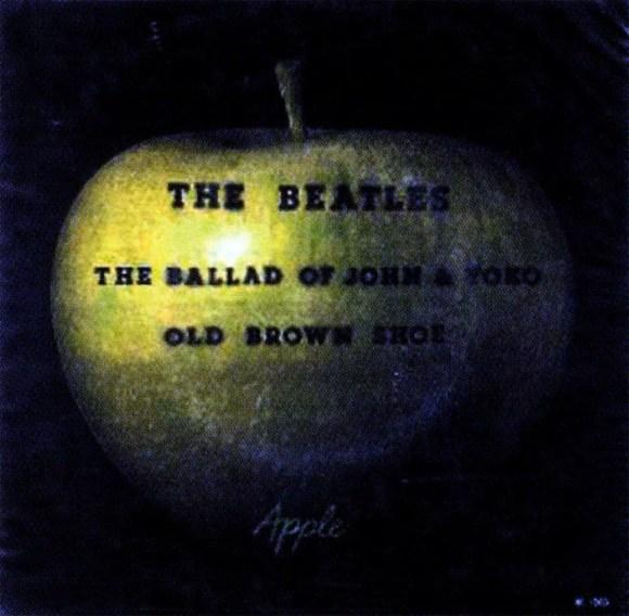 The Ballad Of John And Yoko single artwork - Brazil
