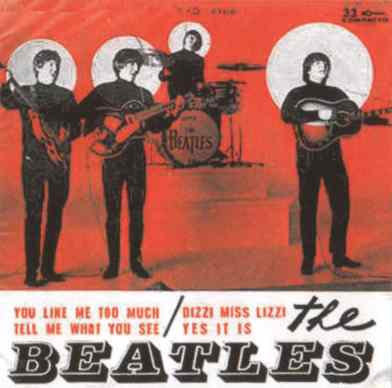 The Beatles EP artwork - Brazil