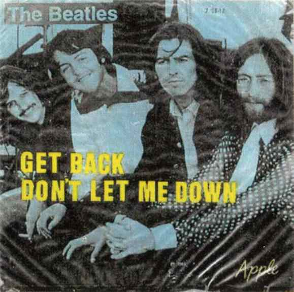 Get Back single artwork - Brazil