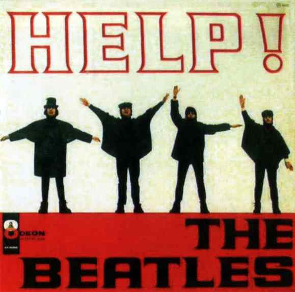 Help! album artwork - Brazil